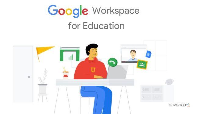 Bottone di selezione per Workspace For Edu