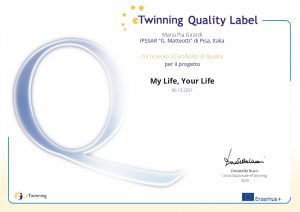 Quality label for my life your life